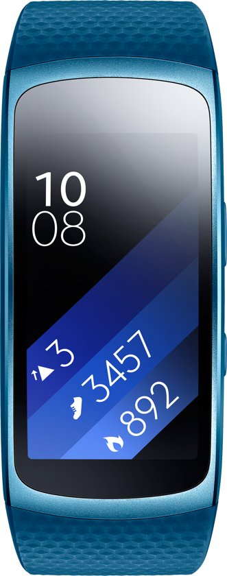 Samsung Gear Fit2 - Activity tracker - Blauw - Small