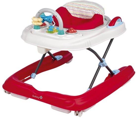 Bol safety st happy step loopstoel rood