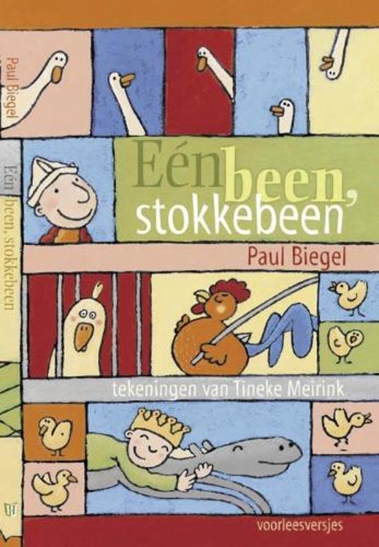 Cover van het boek 'Een been, stokkebeen' van Paul Biegel