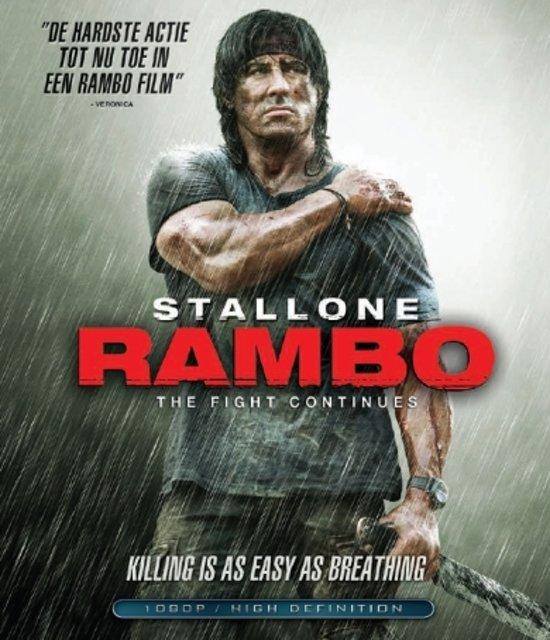 Cover van de film 'Rambo 4'