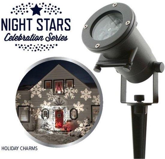 Laser Light - Night Stars 6 Thema Patronen - Feestverlichting - LED projector - Tuinverlichting