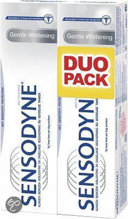 Sensodyne Tandpasta Sensodyne Tandpasta Gentle Whitening Voordeelverpakking