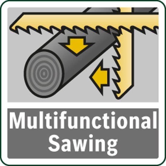 Bosch EasySaw 12 Accu multizaag - Zowel decoupeer als reciprozaag - Zonder accu en lader