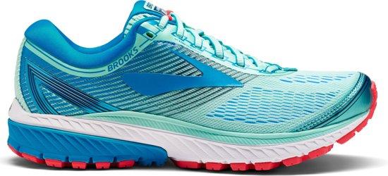 Brooks Ghost 10 Hardloopschoenen Dames Sportschoenen - Maat 37.5 - Vrouwen - blauw