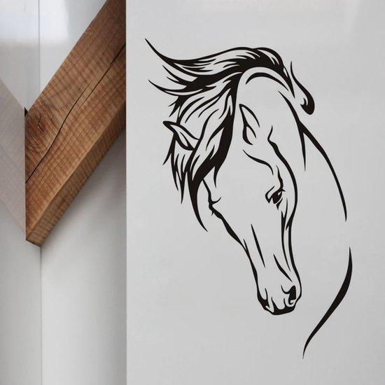 Paarden Sticker Muur.Bol Com Muursticker Paard Paarden Sticker Voor Woonkamer