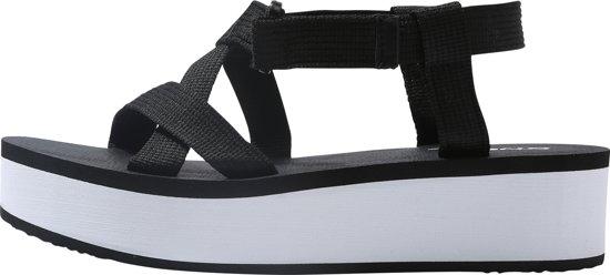 O'Neill Slippers Velcro Wedge - Zwart - 37