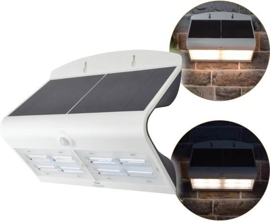 Solar Wandlamp Tuin : Bol o daddy luxe led solar wandlamp met bewegingsmelder