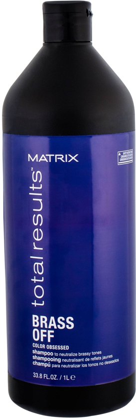 Matrix Brass Off 1L Unisex Zakelijk Shampoo 1000 ml