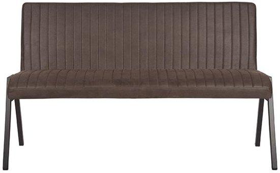 LABEL51 - Eettafelbank Matz 145 cm - Microvezel - Antraciet