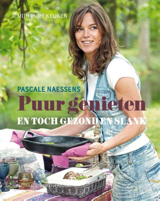 Boek cover Puur genieten en toch gezond en slank van Pascale Naessens (Hardcover)