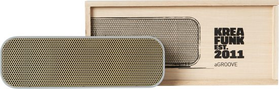 Kreafunk aGROOVE Portable Bluetooth Speaker