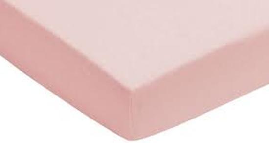 Jollein Jersey - Hoeslakentje 60x120 cm - Roze