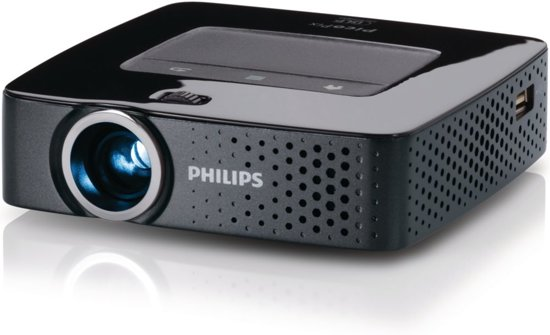 philips picopix 3610 mini beamer projector wvga 100 ansi lumen zwart. Black Bedroom Furniture Sets. Home Design Ideas