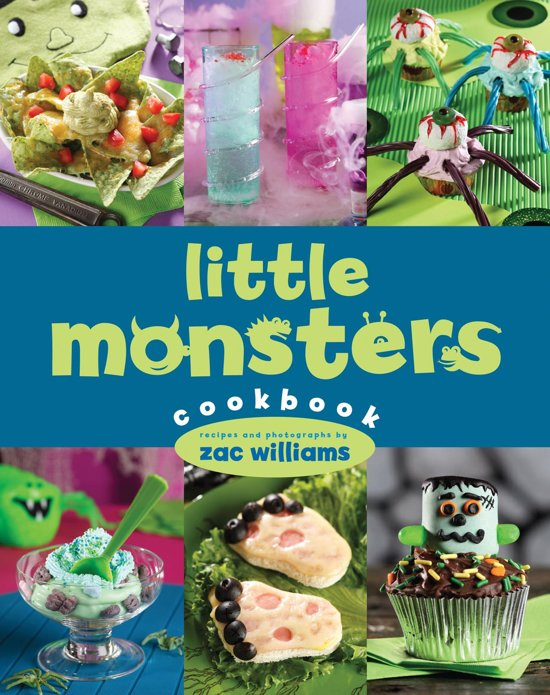 De best verkochte ebook kinderkookboeken van 2017 31 40 boek cover little monsters cookbook van zac williams ebook fandeluxe Document