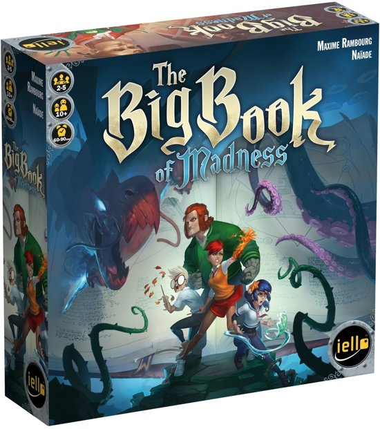 The Big Book of Madness - Bordspel - Engelstalig