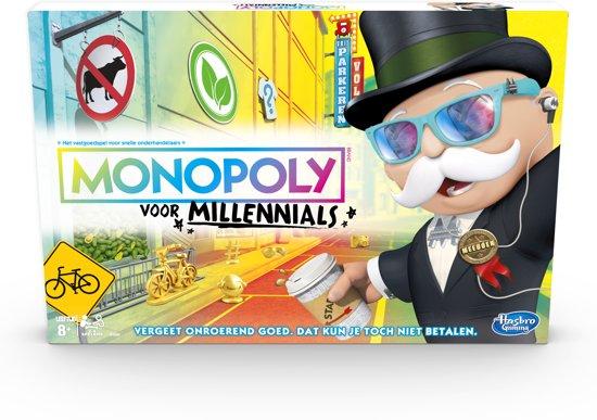 Afbeelding van Monopoly voor Millennials - Bordspel speelgoed