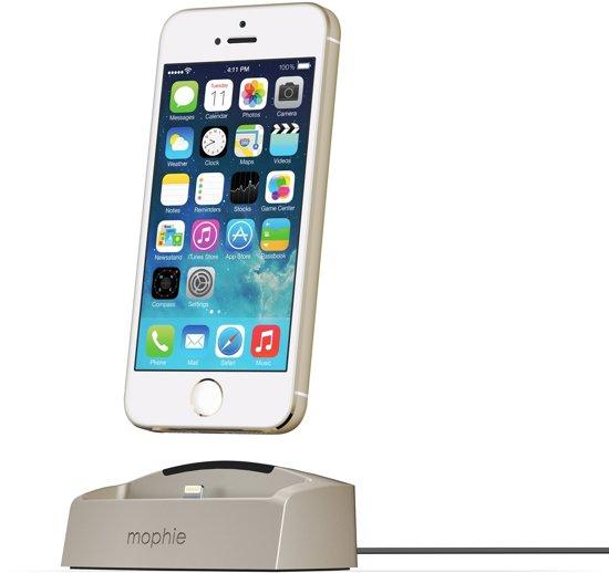 reputable site e0962 ffd06 Mophie desktop charging dock iPhone 5/5s & 6/6S - Goud