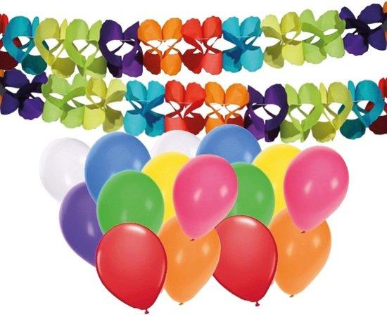 Bol Com 2 Verjaardag Slingers Met 16 Ballonnen Shoppartners