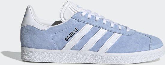 adidas Gazelle W Dames Sneakers PeriwinkleFtwr WhiteEcru Tint S18 Maat 37.5