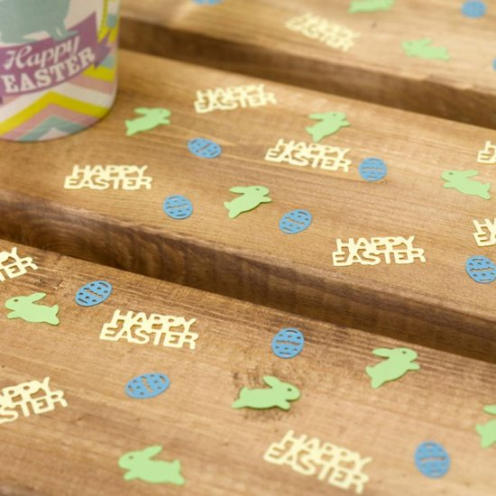 Neviti Happy Easter - Paas tafel confetti (14 gram) Valentinaa
