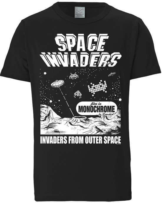 Logoshirt T-Shirt Space Invaders - From Outer Space