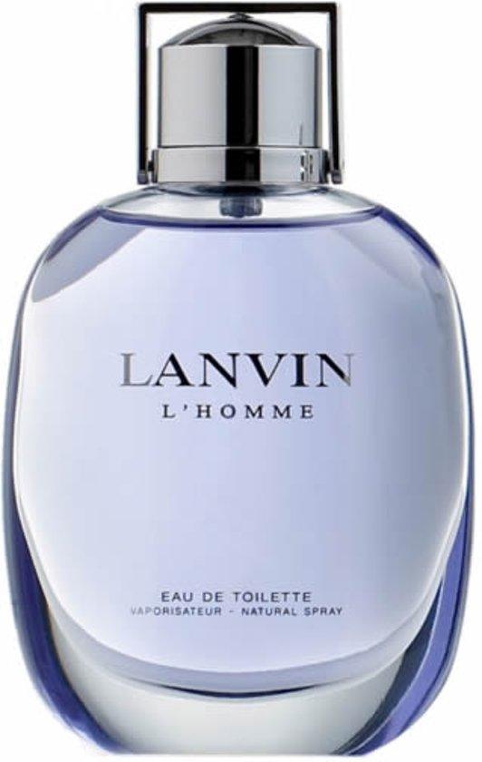 MULTI BUNDEL 2 stuks Lanvin L Homme Eau De Toilette Spray 100ml