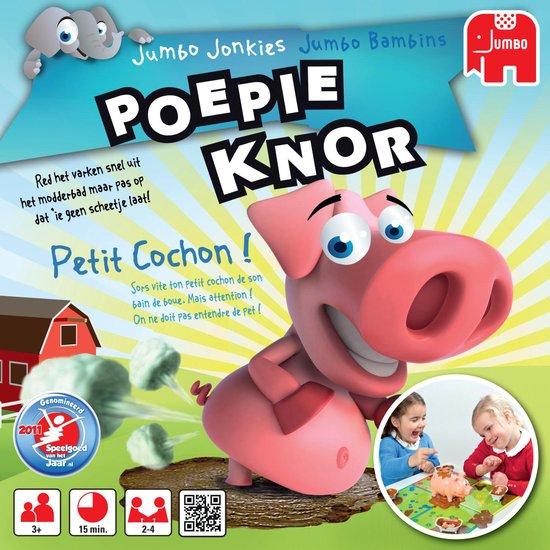 Thumbnail van een extra afbeelding van het spel Poepie Knor - Kinderspel