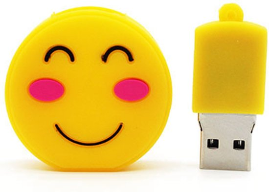 Emoji blush - USB-Stick - 8 GB