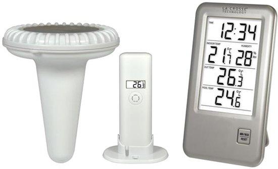 La Crosse - Buiten- En Zwembadthermometer
