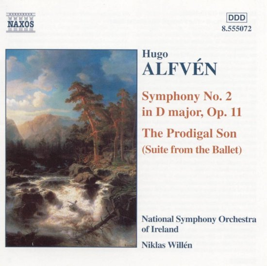 Alfven: Symphony no 2, The Prodigal Son / Niklas Willen, NSO of Ireland