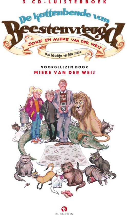 Boek cover De Kattenbende Van Beestenvreugd van Mieke van der Weij (Onbekend)