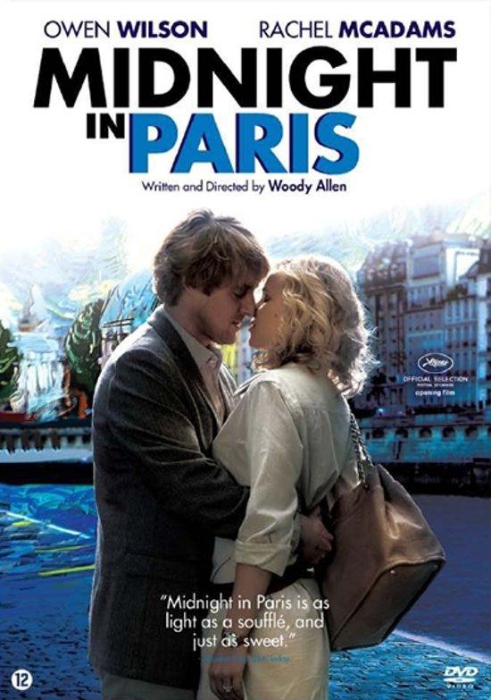 DVD cover van Midnight In Paris