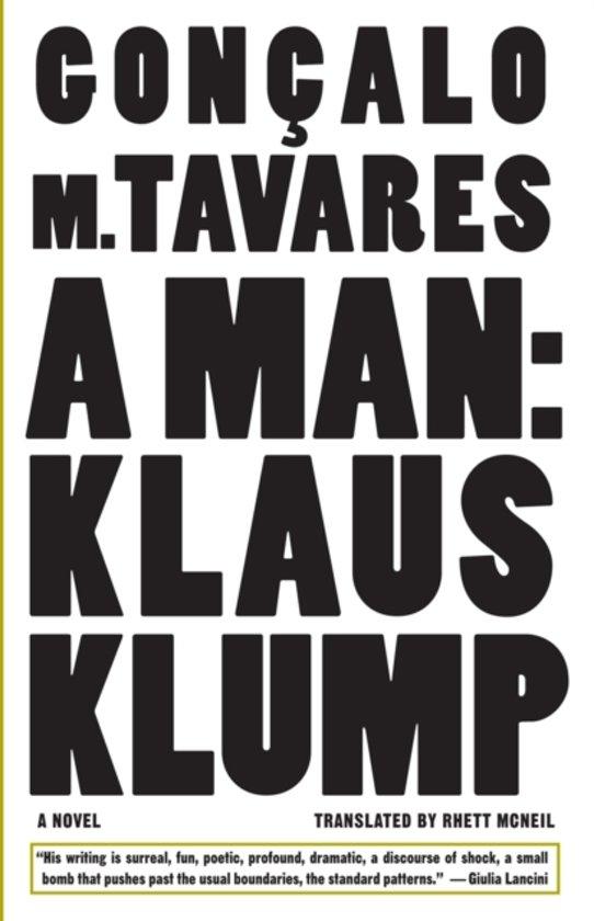 Klaus Klump - A Man