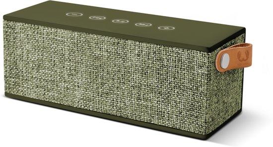 Fresh 'n Rebel Rockbox Brick Fabriq - Draadloze Bluetooth Speaker - Groen