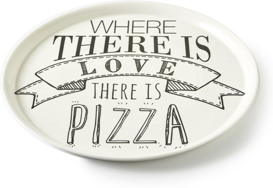 Populair bol.com | Rivièra Maison Love Pizza Plate - Pizzabord - Ø 30,5 cm RM-26