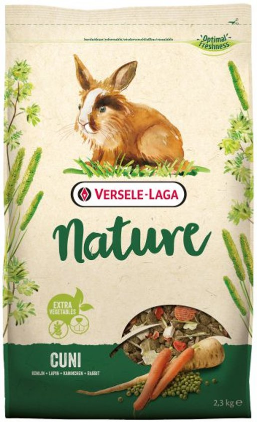 Versele-Laga Nature Cuni - Konijnenvoer - 2.3 kg