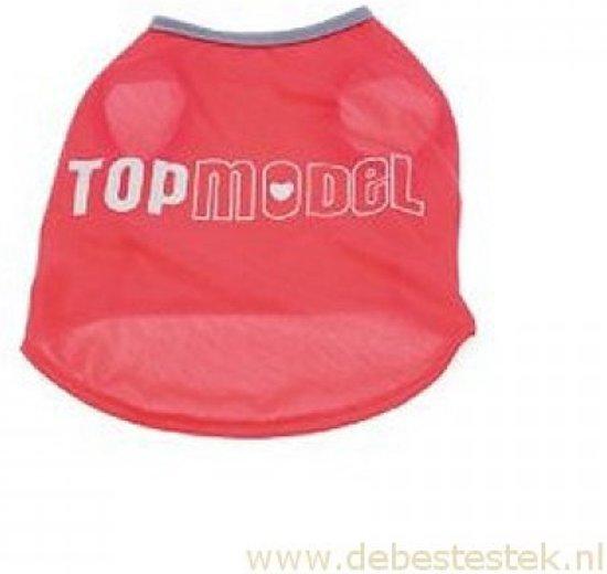Honden t-shirt Topmodel 30cm