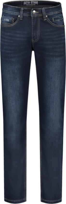 Yoworkwear  Spijkerbroek stretch JV-Slim fit darkblue W34L30