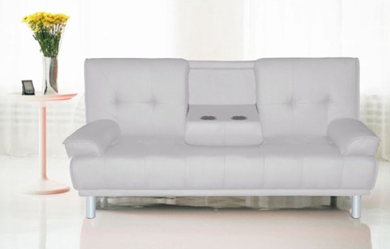 Slaapbank Design Outlet.Design Slaapbank Sofa Cinema Wit