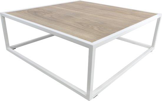 Salontafel Wit Met Eiken.Bol Com Spinder Design Diva Salontafel 100x100x35 Wit Eiken