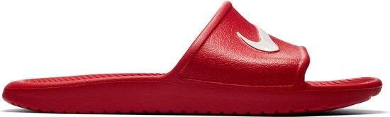 reputable site 548d5 c837c Nike Kawa Slippers Heren Slippers - Maat 44 - Mannen - roodwit