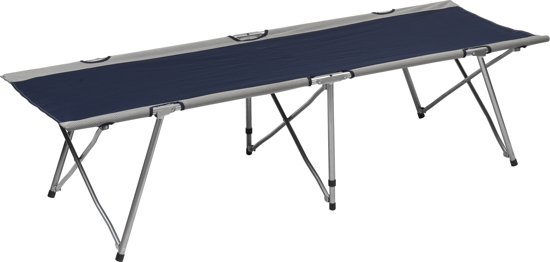 Campart Travel - Veldbed Blauw - BE-0641