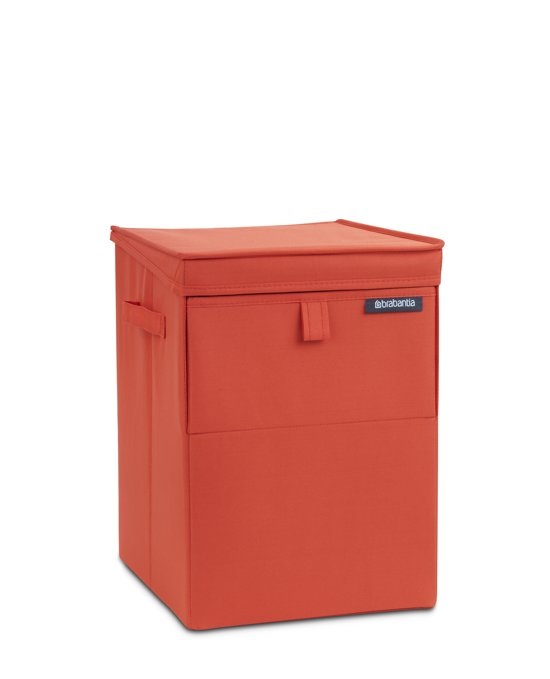 Brabantia Stapelbare Wasmand - 35 l - Warm Red