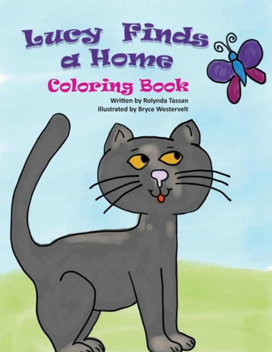 Lucy Finds a Home Coloring Book