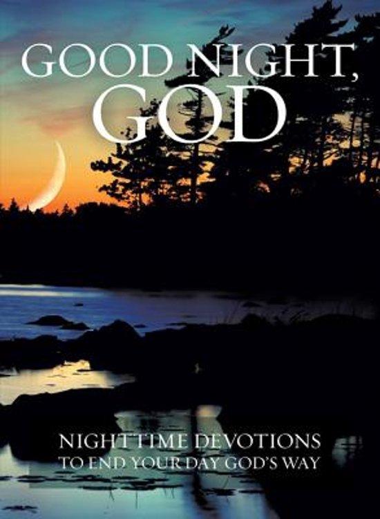 Bolcom Good Night God David C Cook 9781434705808 Boeken