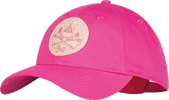 BUFF® Baseball Cap Solid Fuchsia - Pet - Kinderen - Zonbescherming acfdcef5c730