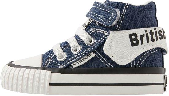 7c6b8367d85 British Knights ROCO Baby jongetjes sneakers hoog - Donker blauw - maat 24