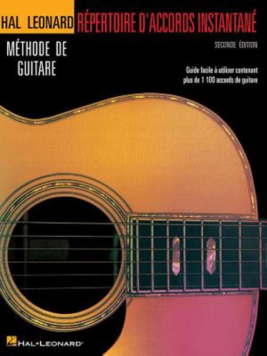 Repertoire D'Accords Instantane - Seconde Edition