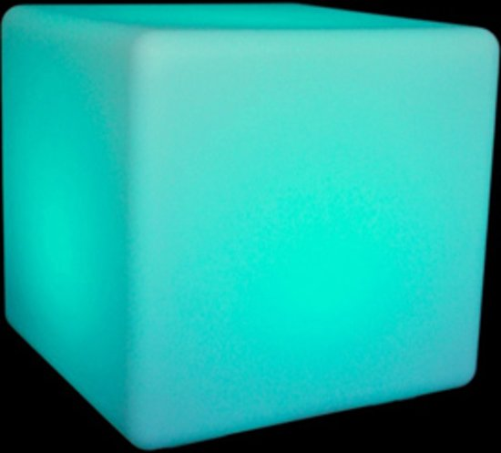 Spiksplinternieuw bol.com   Sfeerstudio LED Kubus 50cm TE-33