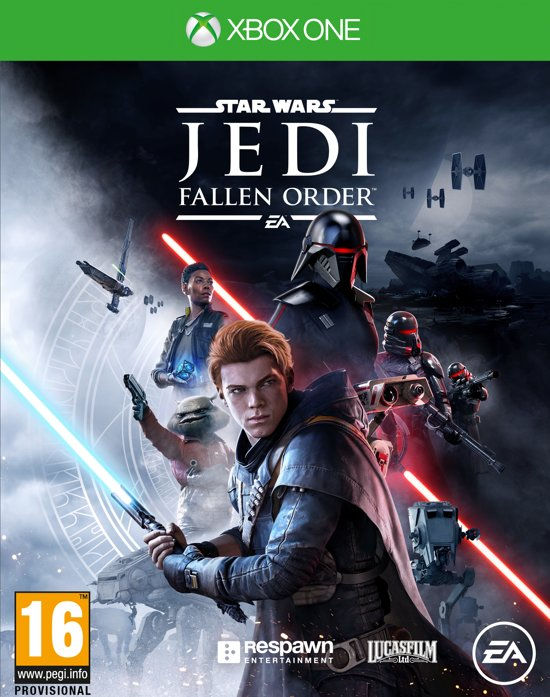 Cover van de game Star Wars Jedi: Fallen Order - Xbox One